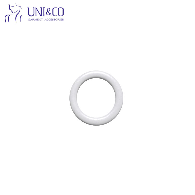 Factory Wholesale Underwear Accessories Nylon Coated Metal Bra Rings Sliders