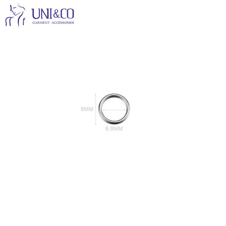 Swimwear Adjustable Metal Bra Strap Adjuster Hook Slider Ring
