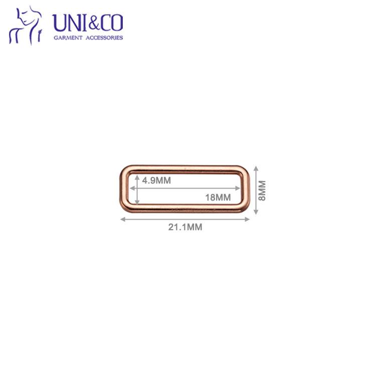 Oval Shape Bra Strap Adjuster For Underwear Bra Hook And Adjuster