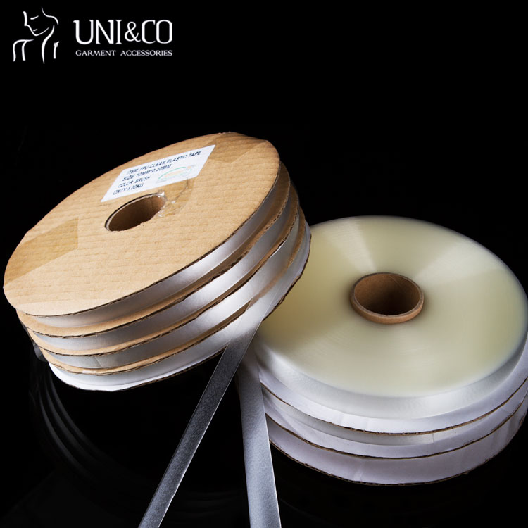 Silicone TPU Clear Transparent Elastic Tape For Bra Strap