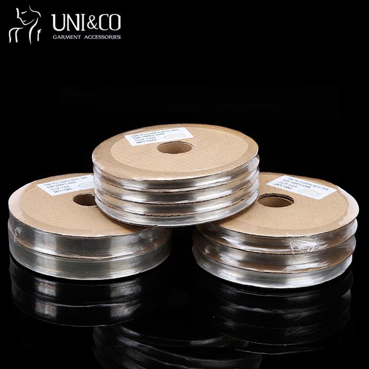 Transparent Silicone Ribbons TPU Mobilon Tape For Garment Elastic Tape